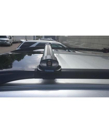 Багажник на универсальные рейлинги (с просветом!) THRONE Titan V1 106-116 см