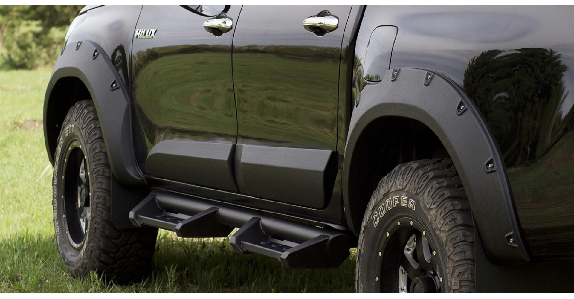 Расширители колёсных арок от лучших производителей